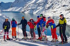 Trainingslager Mölltaler Gletscher