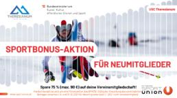 Sportbonus-Aktion